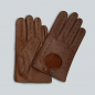 Mobile Preview: Handschuhe aus Elchleder, Farbe: cognac