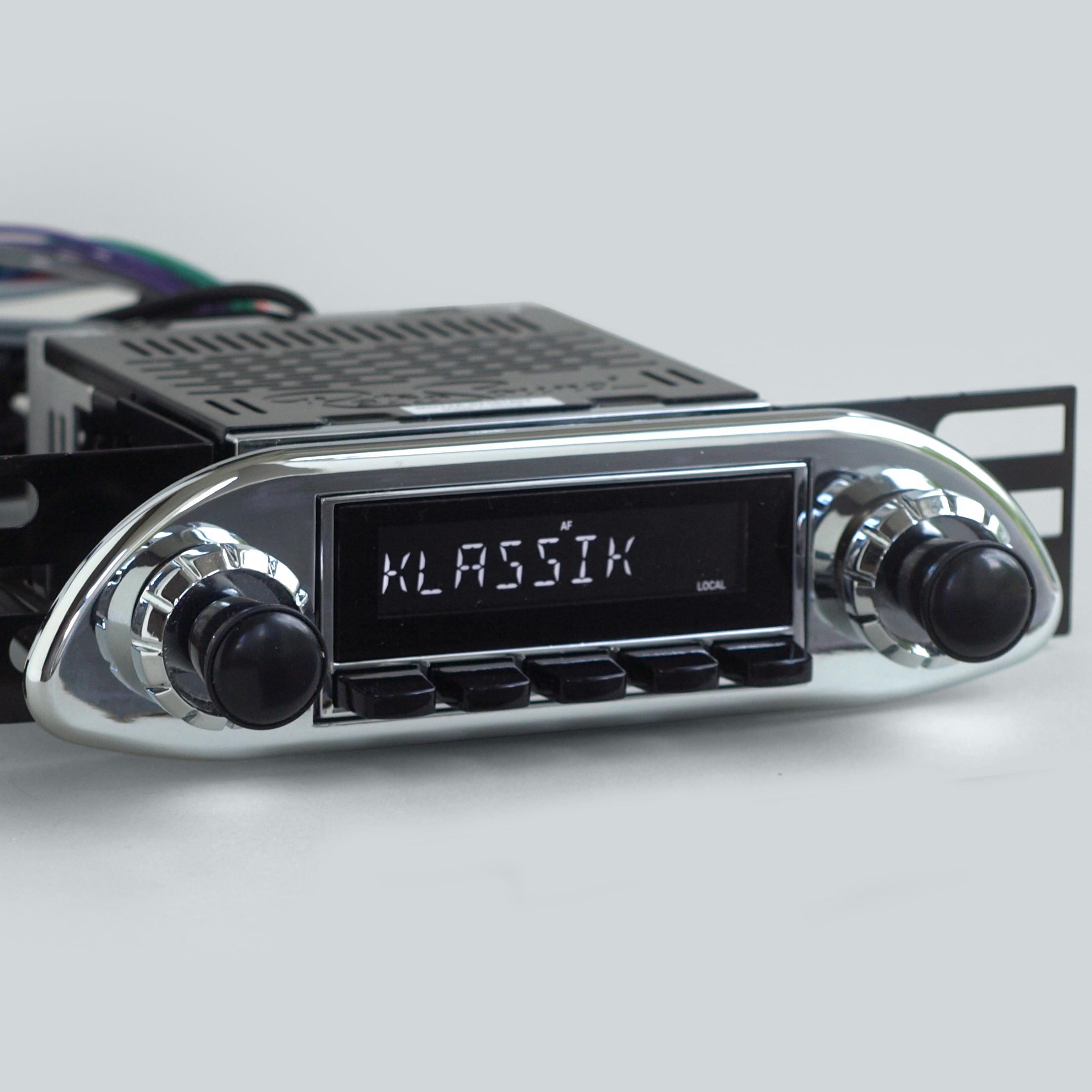heinrici neues radio alter look mit iphone steuerung komplett. Black Bedroom Furniture Sets. Home Design Ideas