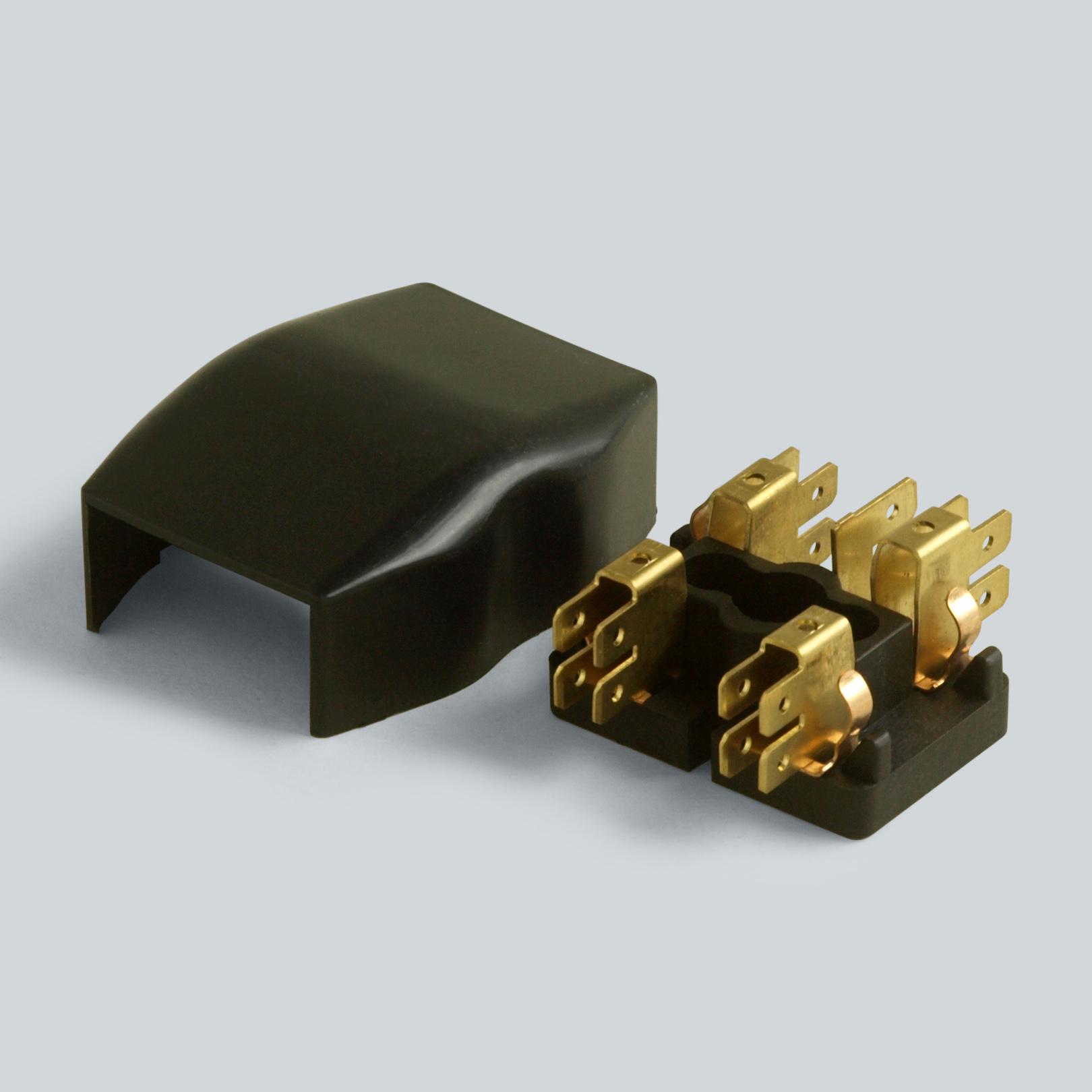 heinrici sicherungskasten f r zwei glassicherungen. Black Bedroom Furniture Sets. Home Design Ideas