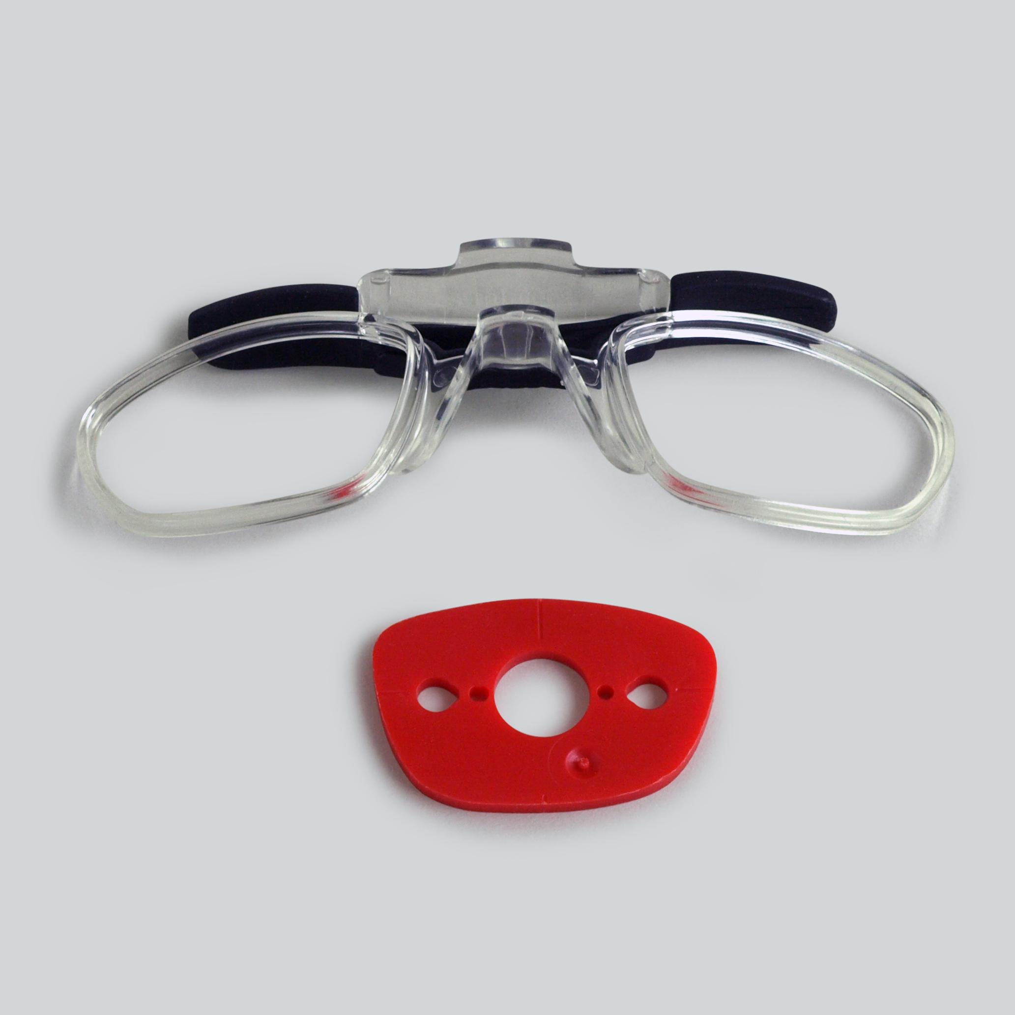 heinrici einsatz f r geschliffenen gl ser f r brille mit seitenlichtblenden. Black Bedroom Furniture Sets. Home Design Ideas